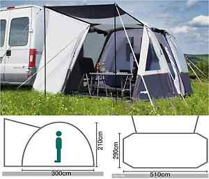 Image Is Loading Quest Easy Air 510 Inflatable Motorhome Driveaway Awning