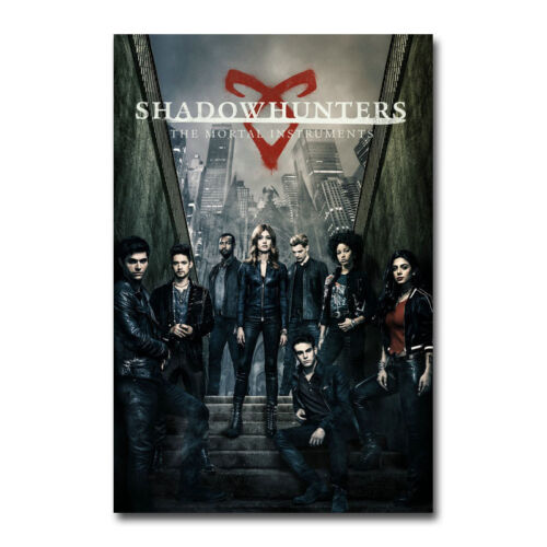 Shadowhunters The Mortal Instruments TV Art Silk Canvas Poster 13x20 32x48 inch