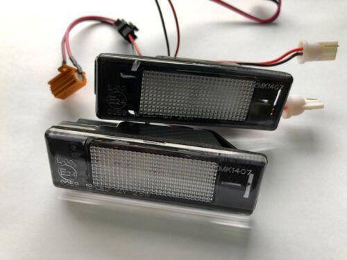 2x TOP LED Kennzeichenbeleuchtung  Nissan Primera P12 307