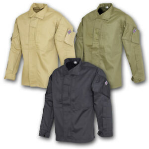BRITISH-ARMY-STYLE-PCS-SHIRT-OLIVE-GREEN-BLACK-COYOTE-MILITARY-SECURITY-SOLIDER