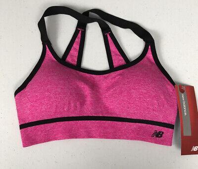 Sports bra NEW BALANCE sports bra M Pink Style 7458 | eBay