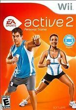Nintendo Wii Game EA SPORTS ACTIVE 2 PERSONAL TRAINER - Sensors Included