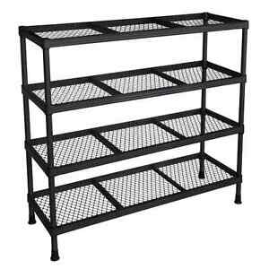 Image Is Loading Wire Shelving Unit Rack Steel Storage Shelf Closet