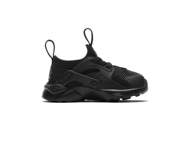 pretty nice fa096 56541 Nike Air Huarache Run Ultra TD 859594 004 Baby's Trainers Black Boys Shoes