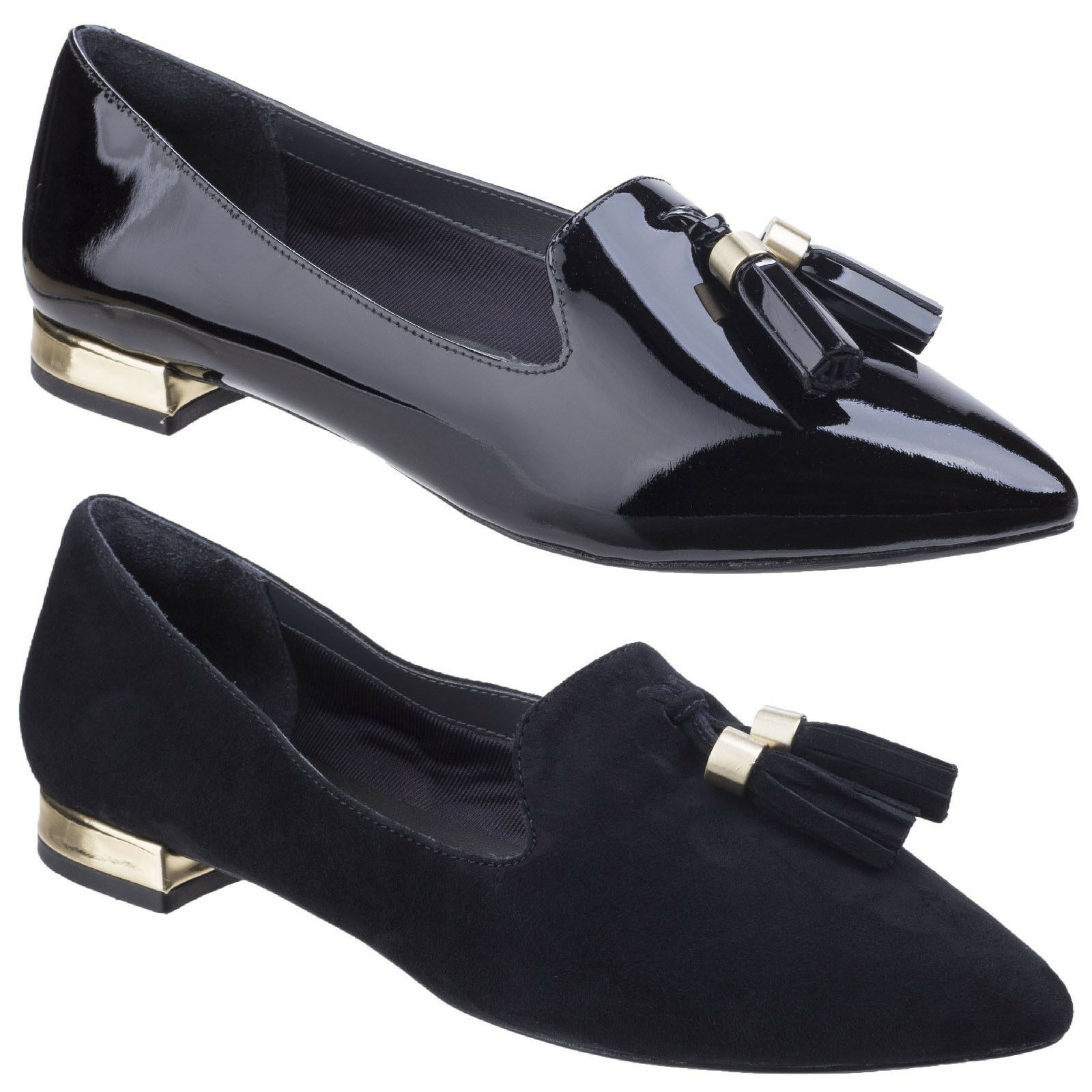 Rockport Total Motion zuly Mocassins femmes cuir décontracté chaussures plates