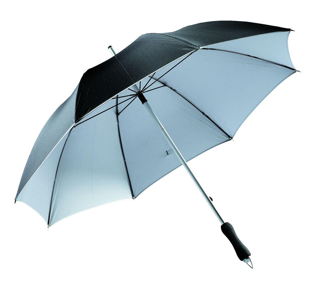 Aluminio de fibra de vidrio bastón paraguas paraguas