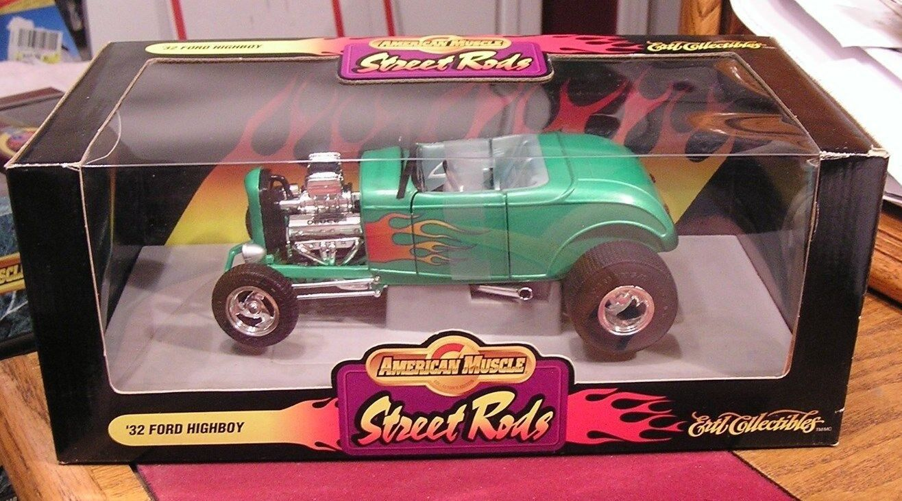 1932 Ford Highboy Street Rods Rods Rods -- American Muscle 1 18 Die Cast Car e160f4