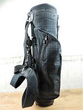 Burberry Dark Blue Black Nova Check Golf Bag Very Minor use Carry or cart