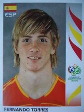 Panini 548 Fernando Torres Spanien FIFA WM 2006 Germany