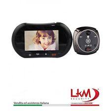 Spioncino Digitale LKM Security con Schermo Touch Screen da 3,7 pollici GSM