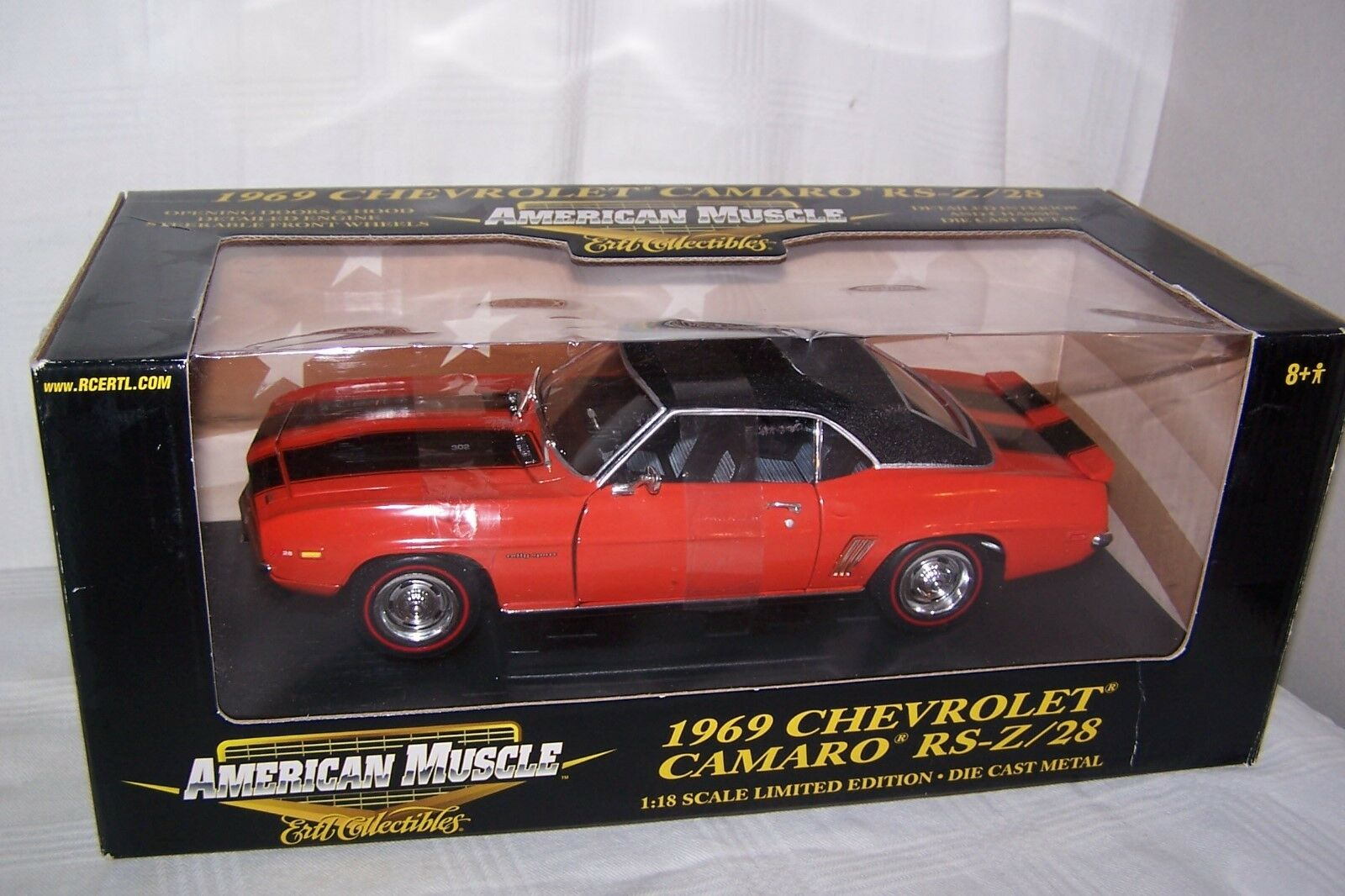 1 18 diecast 1969 Camaro RS Z 28 Limited Edition