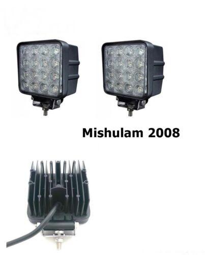 sainchargny.com 2 x 48W Wei LED Arbeitsscheinwerfer Scheinwerfer ...