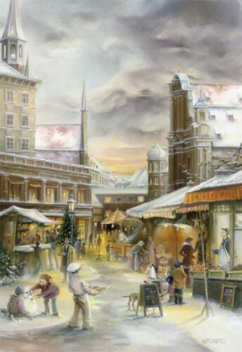 Calendrier de l/'avent Munich U Munich Viktualienmarkt