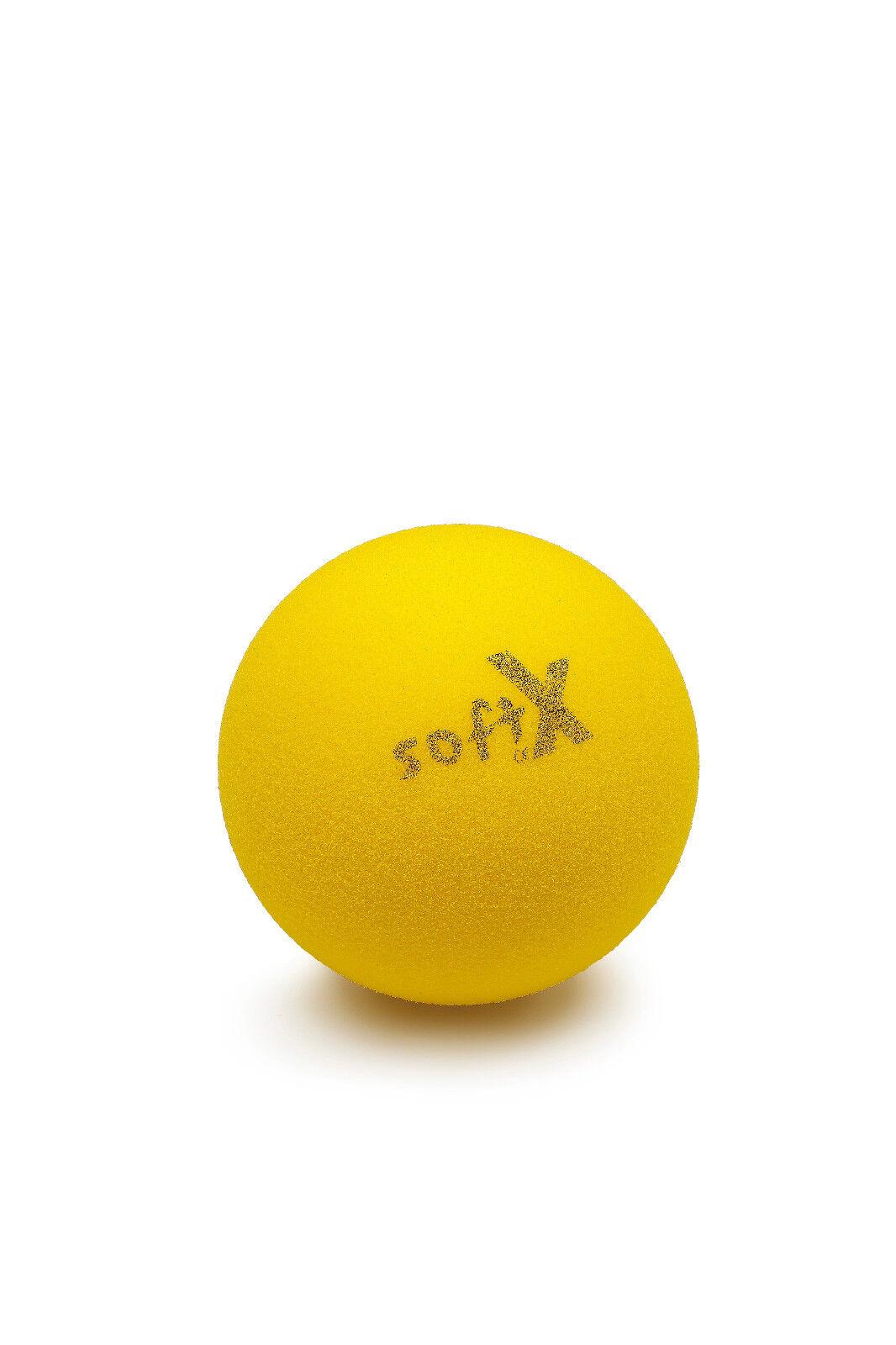3x Mondo Softbälle Bälle Weicher Schaumstoffball Tennisball Trainingsball Ø 7 cm