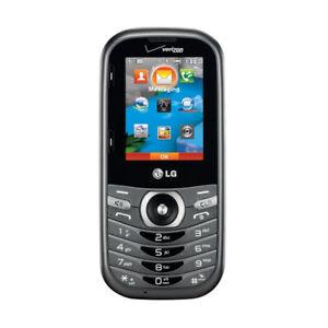 LG Cosmos 3 VN251S Black QWERTY Keyboard Verizon Wireless Slider Cellular Phone