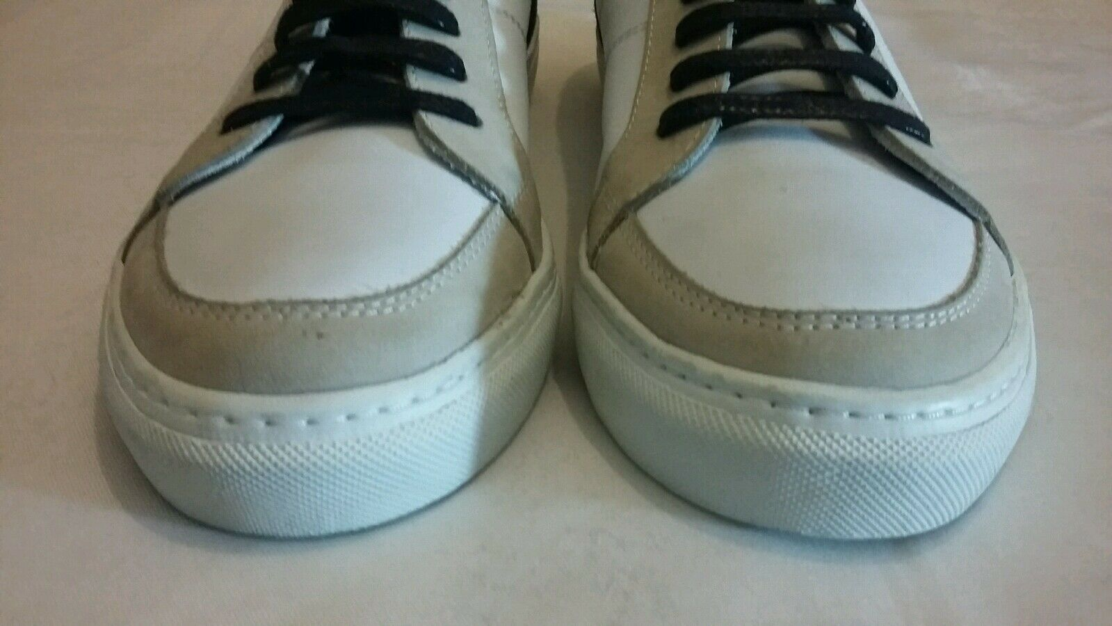 GARMENT PROJECT up Leder / Suede Lace up PROJECT Sneakers Größe uk 8 eu 42 9b933b
