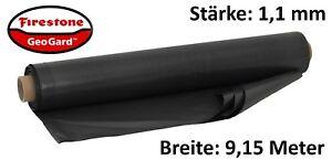 Details Zu 1156EUR M2 EPDM Teichfolie Firestone GeoGard 6 X 915 M Kautschuk Folie 11mm