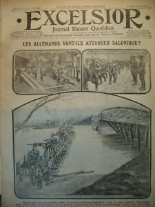 WW1-N-1910-SOMME-POILUS-BANQUET-DE-PROMOTION-JOURNAL-EXCELSIOR-1916
