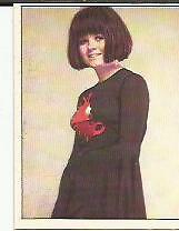 CANTANTI PANINI 72 # 154 - DOMINGA - -FIGURINA CARDS-CROMOS-NUOVA- NEW