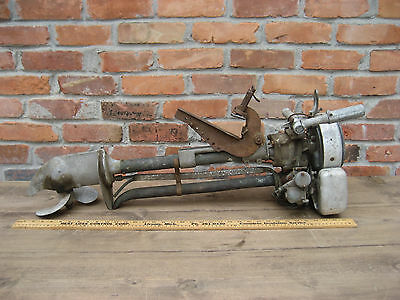 Vintage Sears Roebuck WATER WITCH outboard motor Model OB 1 NEED OF RESTORATION
