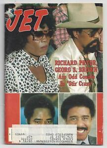 Jet Magazine January 22 1981 Richard Pryor Georg S Brown Cover