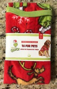 Dr Seuss Grinch Pj S For Pets Dog