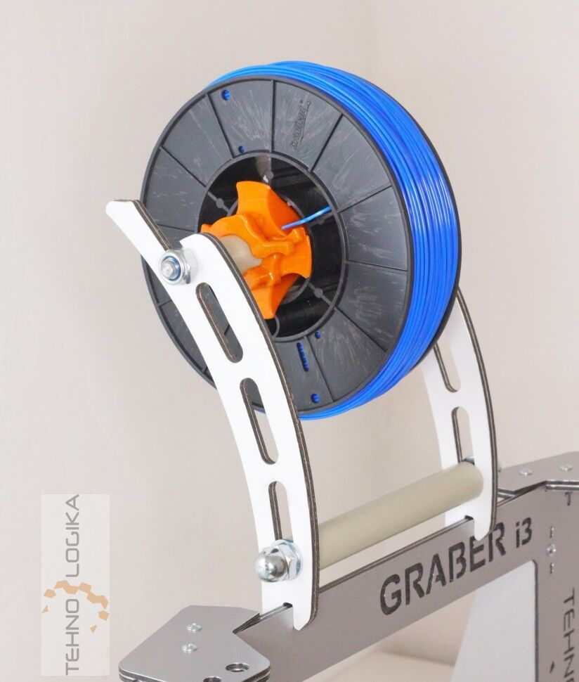 Quick Change Filament bobbin guide, spool holder, for Prusa i3, Graber I3, anet