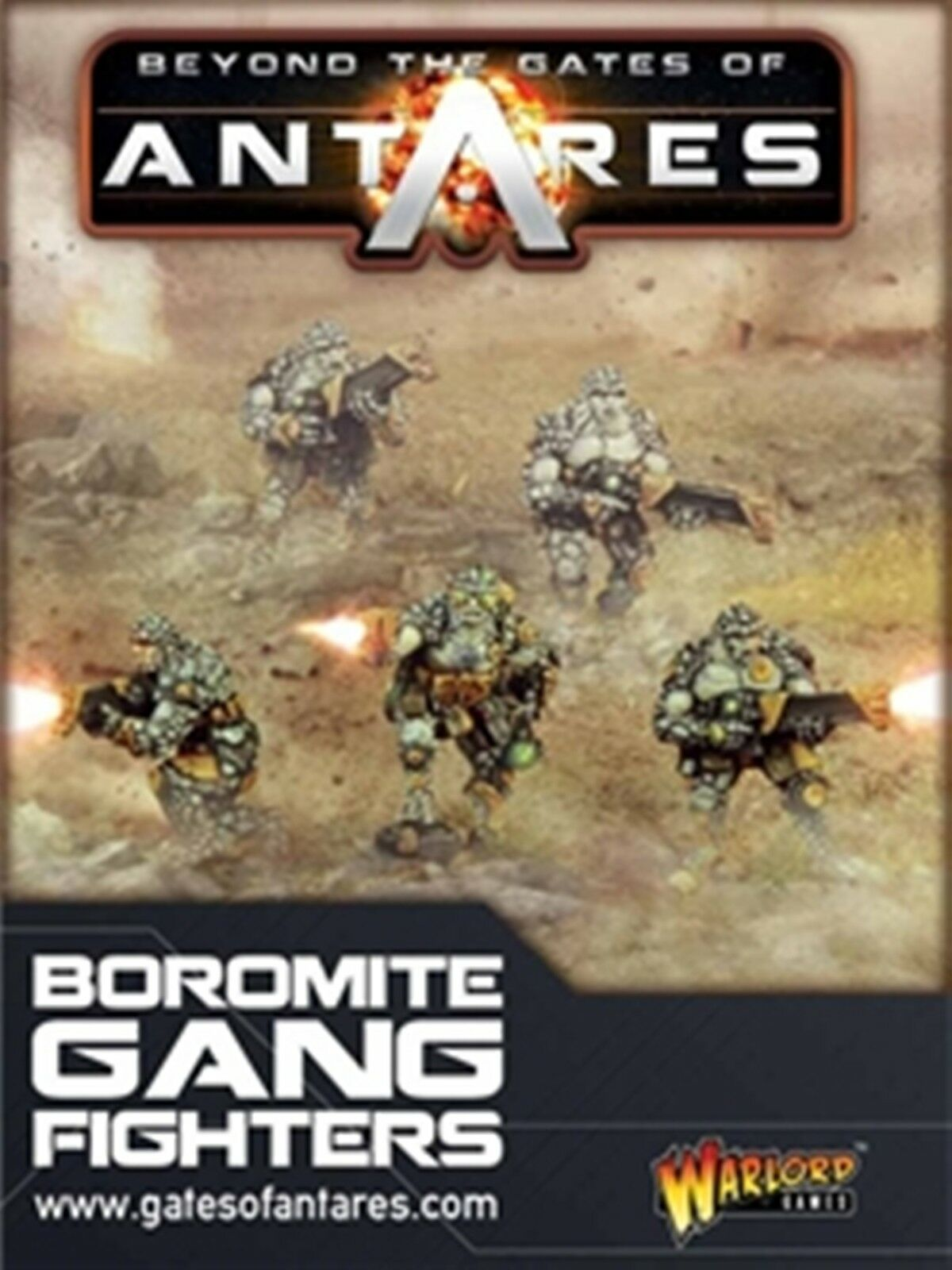 NEW GATES OF ANTARES BgoldMITE GANG FIGHTERS GAMES COLLECTIBLE FIGURE WGA-BOR-02