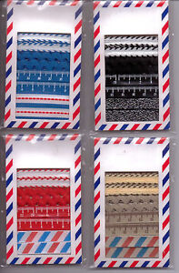 Details about Michael's YOU GOT MAIL Ribbon sets of 4 different ribbons~  Color Varieties~Nice!