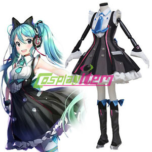 image is loading hatsune miku vocaloid lolita dress suit uniform japanese