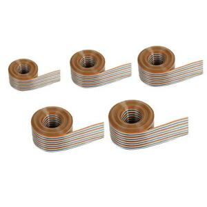 1-27mm-Spacing-Pitch-20P-40P-Flat-Color-Rainbow-Ribbon-Cable-Wire-Dupont-Line