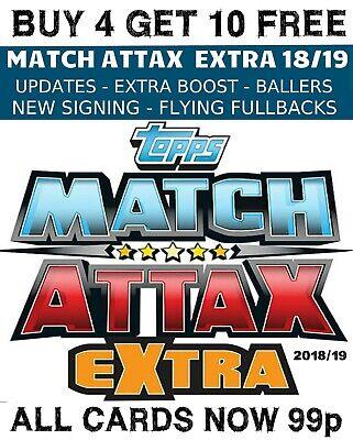 Match Attax 2018//19 extra-Arsenal Matteo guendouzi U6 tarjeta de actualización no