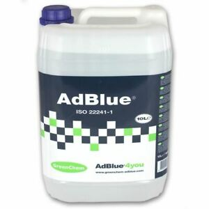 Greenchem AdBlue Universal Ad Blue 10L 10 Litre with Free Pouring Spout