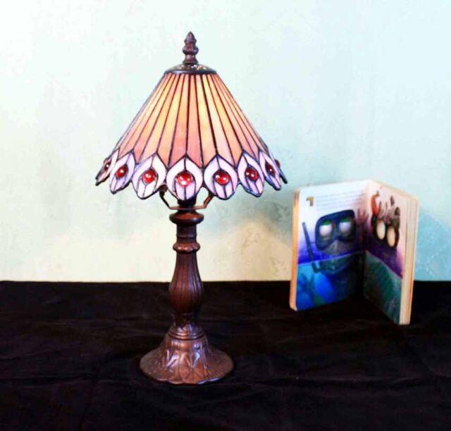 Tiffany Tiffanylampe Tisch Nachttisch Büro Wohnzimmer Lampe Tischlampe GN218