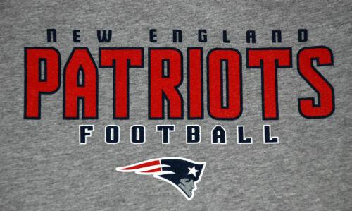 NEW ENGLAND PATRIOTS Football TEE NWT REEBOK Free Shipping in USA