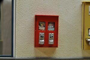 Copieux Chewing-gum étaient Automate Bubble Gum Diorama Poupée Vintage Deco Accessoires 1/18-afficher Le Titre D'origine Pourtant Pas Vulgaire