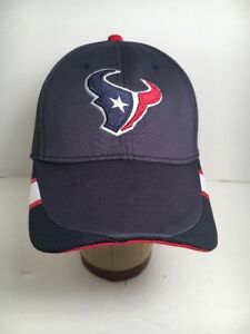 Details about Reebok On Field Stretch Fitted Houston Texans NFL Football  Hat - Blue NICE! S M 2426d94e3a9
