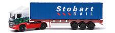 Corgi Super Haulers TY86650 1:64 Scale Eddie Stobart Skeletal Container Diecast