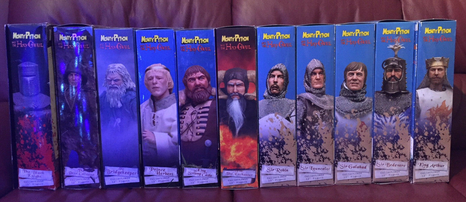 11 SIDESHOW FIGURES - Monty Python & the Holy Grail -1 6 scale