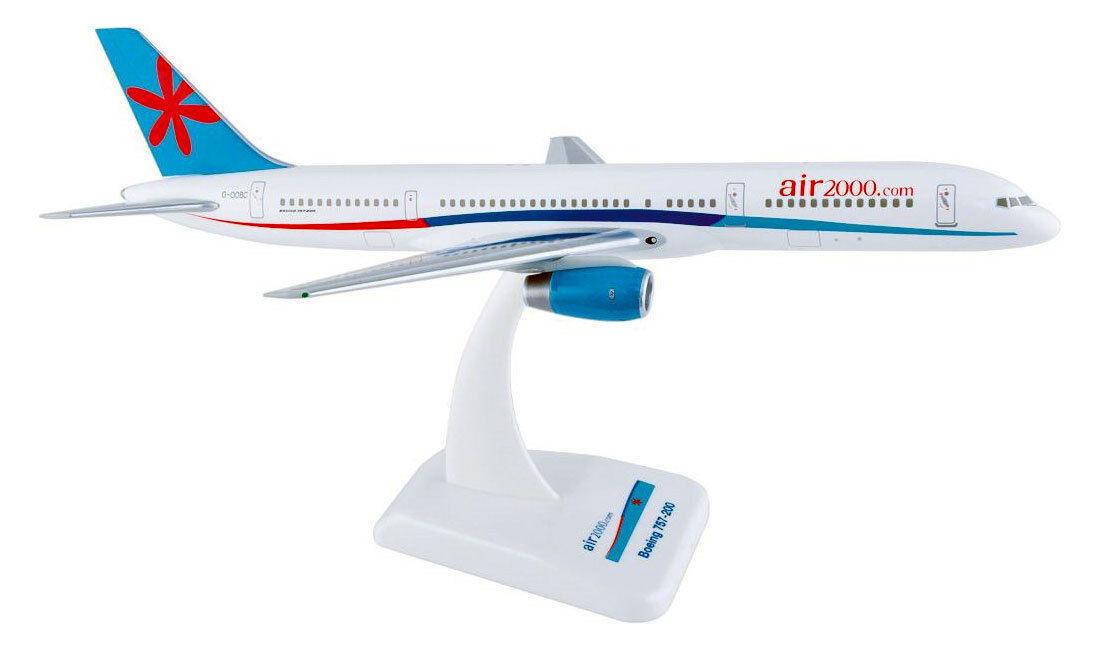 Air 2000 Boeing 757-200 1 200 Hogan Wings modèle d'avion b757 Châssis air2000