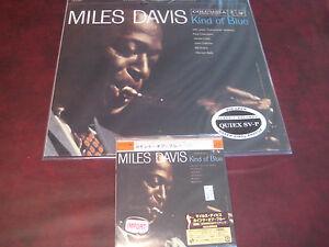 MILES-DAVIS-KIND-OF-BLUE-CLASSIC-RECORDS-200-Gram-LP-JAPAN-REPLICA-OBI-CD-SET