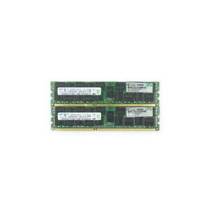 32GB 2x16GB - 2Rx4 PC3L-10600R Samsung Server RAM HP PN: 647653-081
