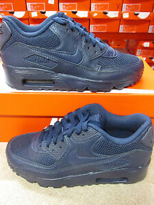 sports shoes ec7af ff794 Image is loading Nike-Air-Max-90-Mesh-GS-833418-401-
