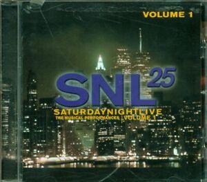 Saturday-Night-Live-Volume-1-Paul-Simon-Sting-Clapton-David-Bowie-Lennox-Cd-Mint