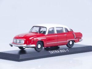 Tatra 603 Czechoslovak Luxury Car 1956 Year 1:43 Scale Collectible Diecast Model