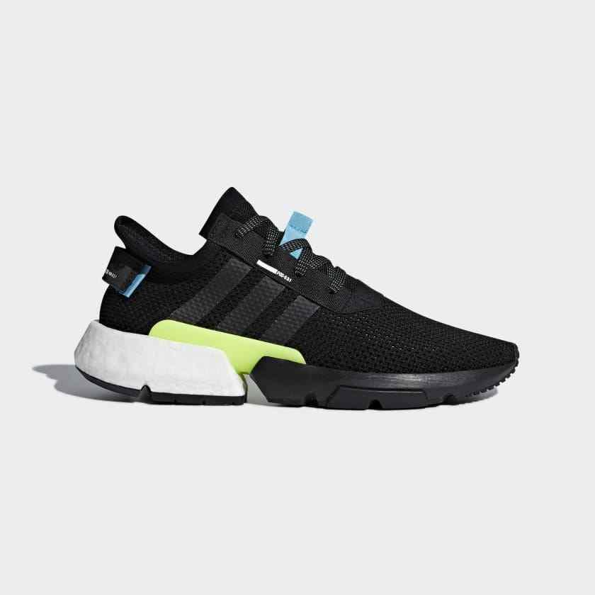 Men's Brand New Adidas POD-S3.1  Core Black  Athletic Fashion Sneakers