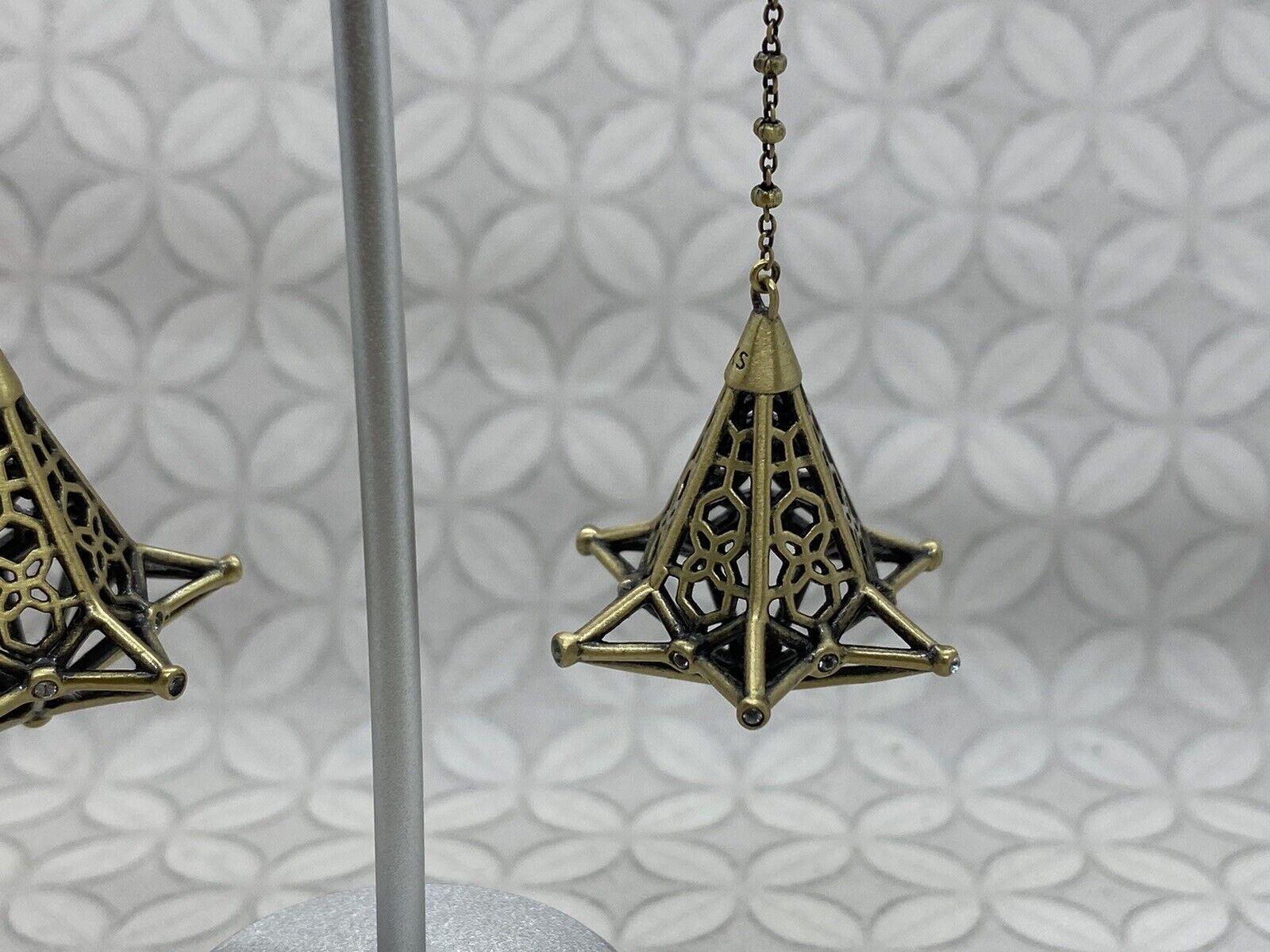 Kendra Scott Diana duster long dangle earrings an… - image 3