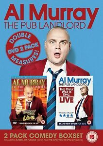 Al-Murray-The-Pub-Landlord-Double-Measures-DVD-Stand-Up-Collection-New