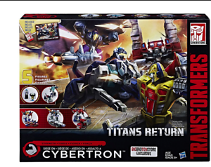TRANSFORMERS HASBRO TITANS &ZRETURN SIEGE ON CYBERTRON STRENGTH Force BOX SET