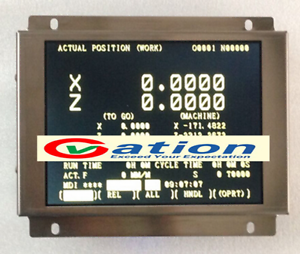 """A61L-0001-0093 D9MM-11A 9/"""" Replacement LCD Monitor for FANUC CNC system CRT"""